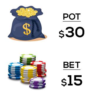 pot and bet