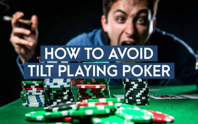 How To Avoid Tilt Playing Poker