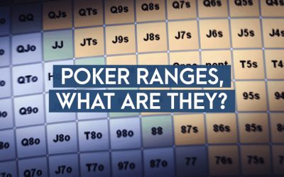 Poker Ranges, What Are They?