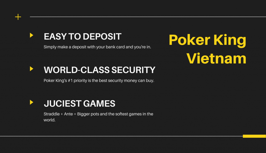 easy to deposit, world class security, juiciest games